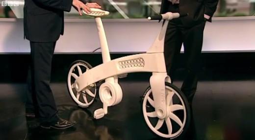 3D printed Nylon bicycle
