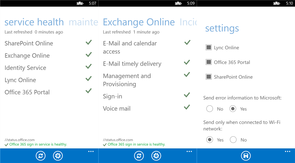 Microsoft Launches Office 365 Admin for Windows Phone