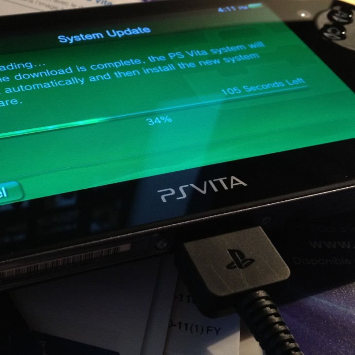 ps vita image crop 730x730 Software update brings PlayStation 4 remote play and second screen support to the PS Vita