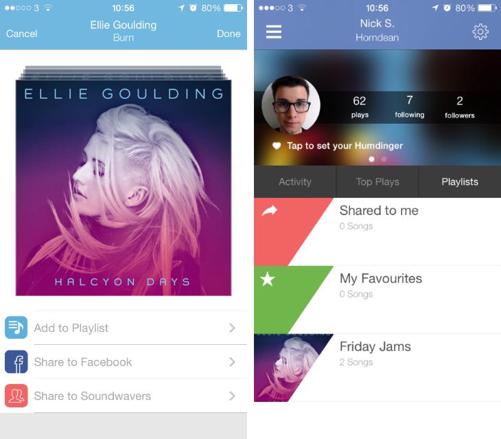 This New App Lets You Play And Compete To Design Your: Soundwave For IOS App Now Lets You Create Your Own Playlists