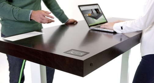 This WiFi-enabled smart desk will cost you $3,890. And you can buy one today.
