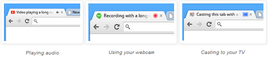 tab indicators Google explains why it wont add a mute tab option to Chrome, considers Tab Audio API for extensions