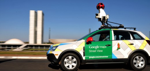 The Google street view mapping and camer