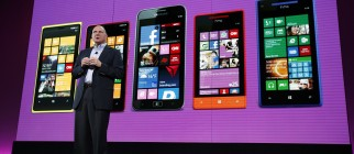 Microsoft Launches New Phone 8 in San Francisco