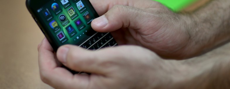 BlackBerry CEO says the firm is 'well-positioned for the future' and more nimble, agile than before