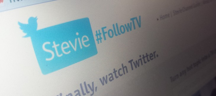 Stevie now turns any Twitter topic into a social TV channel
