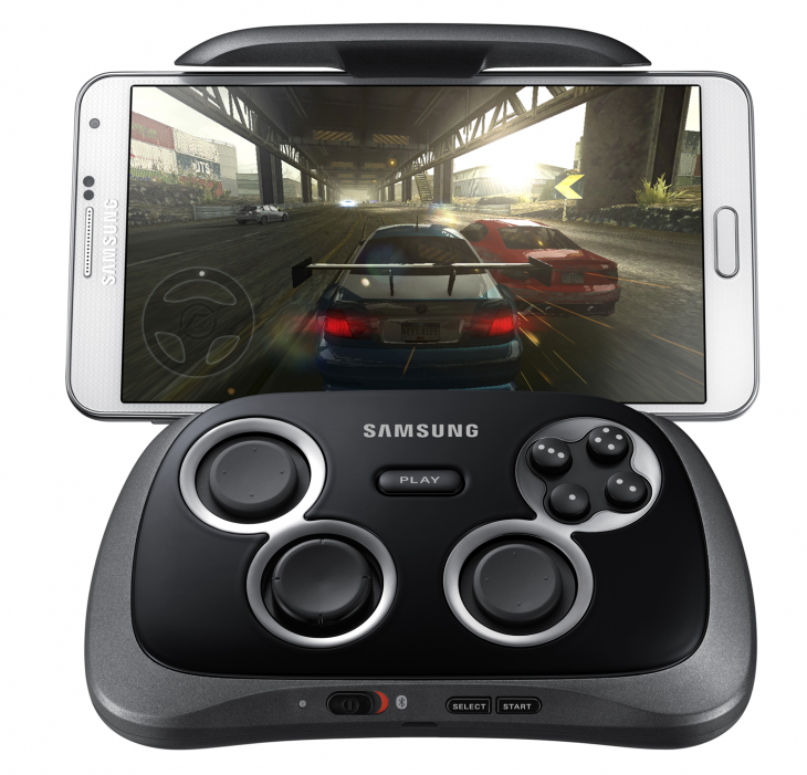 Samsung Launches Android Gamepad