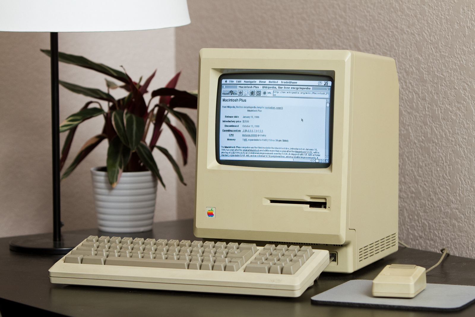 Engineer Connects 27-Year-Old Macintosh Plus to the Internet