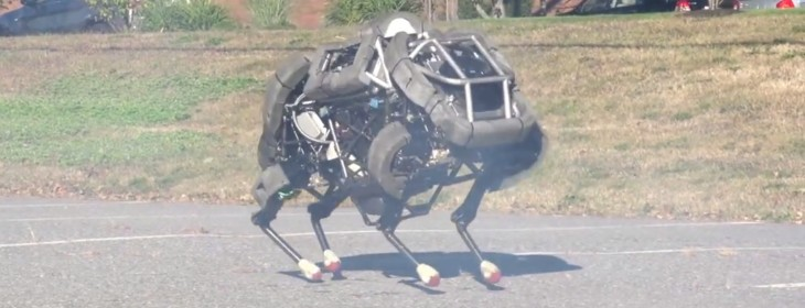 Google acquires a company that makes walking, running robots – including one faster than Usain Bolt ...