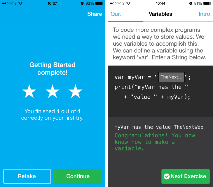 Codecademy: Hour of Code iPhone App Offers Basic Programming