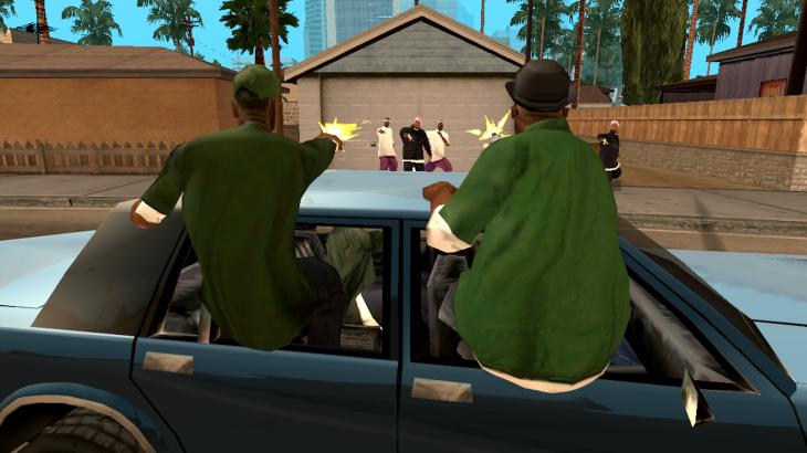 Grand Theft Auto San Andrewa