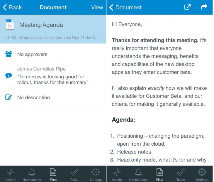 Huddle-Note-iOS-Screenshot-1