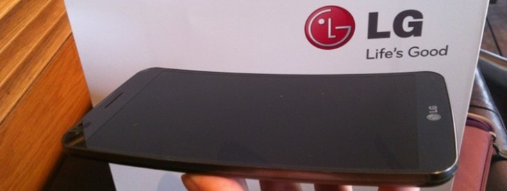 LG's curved G Flex Android smartphone will launch in the UK with EE next February