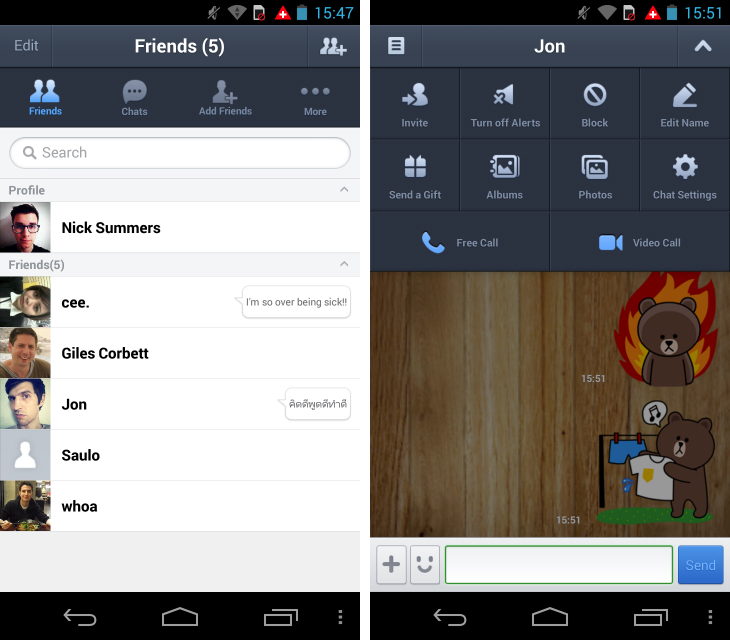 Line1 So you've just got an Android device? Download these apps first