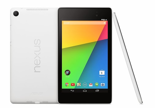White Nexus 7 now available from Google Play in the US, the UK, and Japan