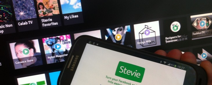 Stevie's social TV platform hits Android, and now lets you beam channels to the big screen via ...