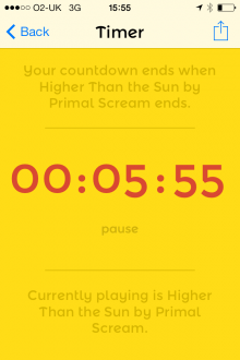 Photo 20 12 2013 15 55 36 220x330 Humming Timing: This timer app for iPhone counts down using music from your library