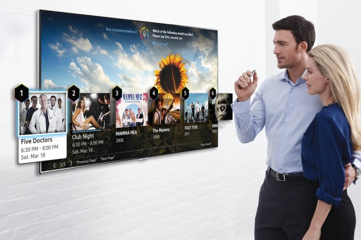 Samsung's New Smart TV Has Better Voice And Motion Control