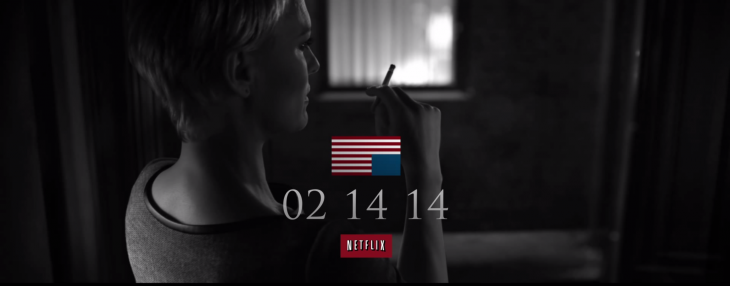 Update: House of Cards season two is now available on Netflix
