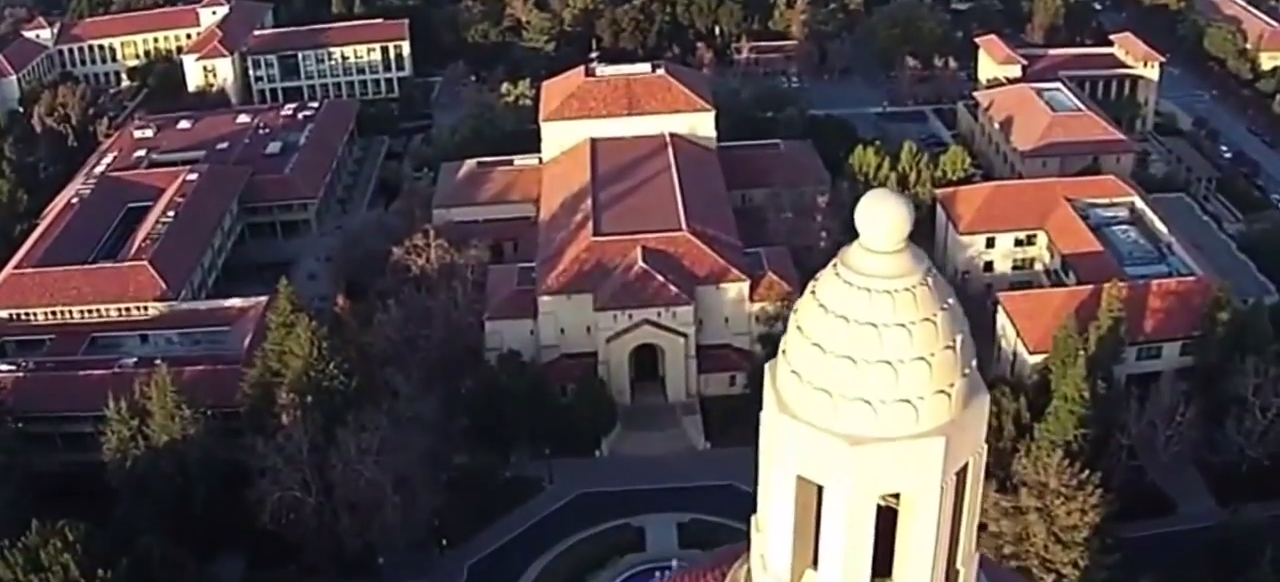 Auto-Awesome Video Shot with Google Exec's Quadcopter at Stanford