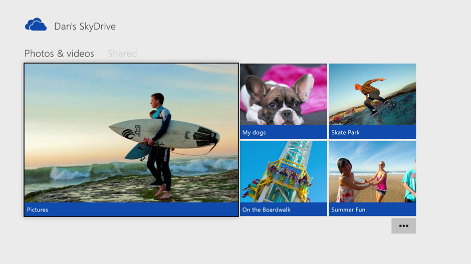 SkyDrive001 The Xbox One is the ultimate culmination of Microsofts vision