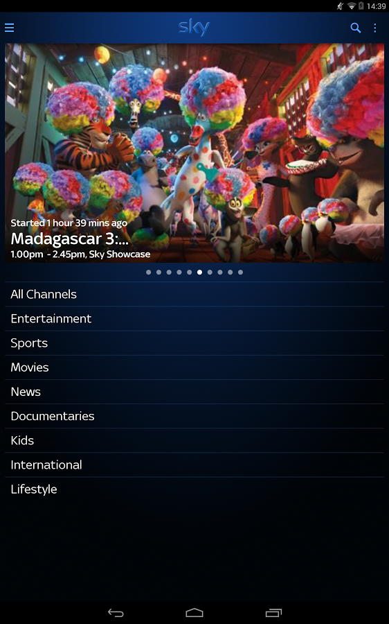Skygo Android