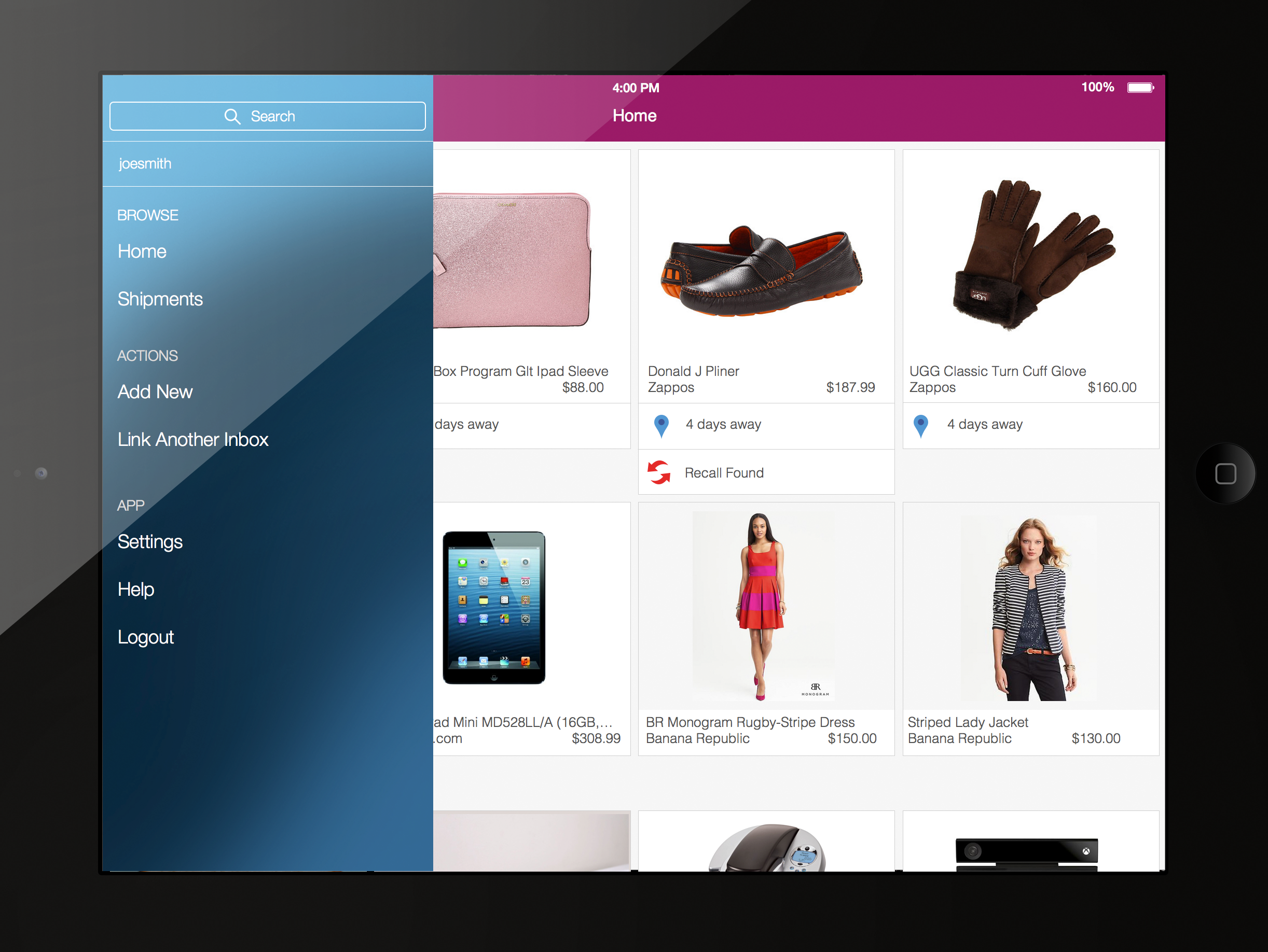 Slice for iPad Lets You Track Your Online Purchases