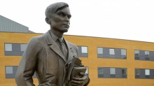 alanturing 220x123 Queen Elizabeth pardons computer science pioneer Alan Turing of 'gross indecency' conviction