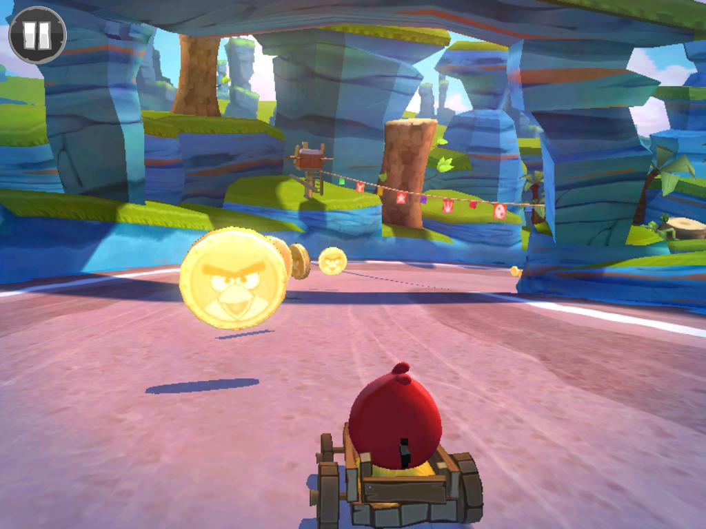 скачать игру Angry Birds Go скачать на андроид - фото 8
