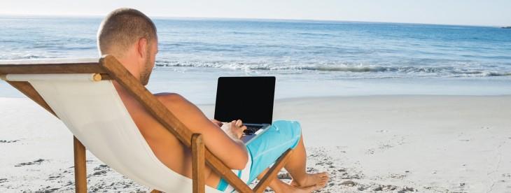 http://www.shutterstock.com/pic-158695826/stock-photo-relaxed-handsome-man-working-on-his-laptop-on-the-beach.html?src=zEIjxKBxwTUKyfXyV8xbvQ-1-0