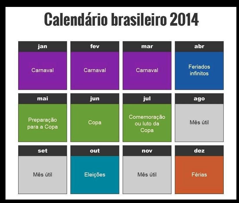 calendario brasileiro 2014 via facebook