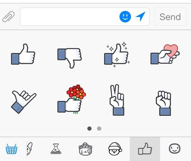 cdv photo 001 Facebook gets sassy with new Like sticker pack for Messenger