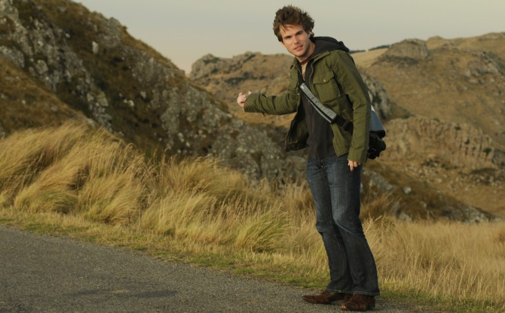 Colin Wright fake hitchhiking New Zealand