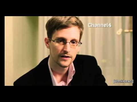Video thumbnail for youtube video Edward Snowden Delivers Channel 4's Alternative Christmas Message