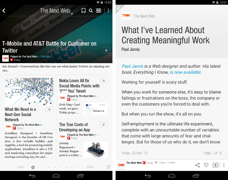 flipboard1 So you've just got an Android device? Download these apps first