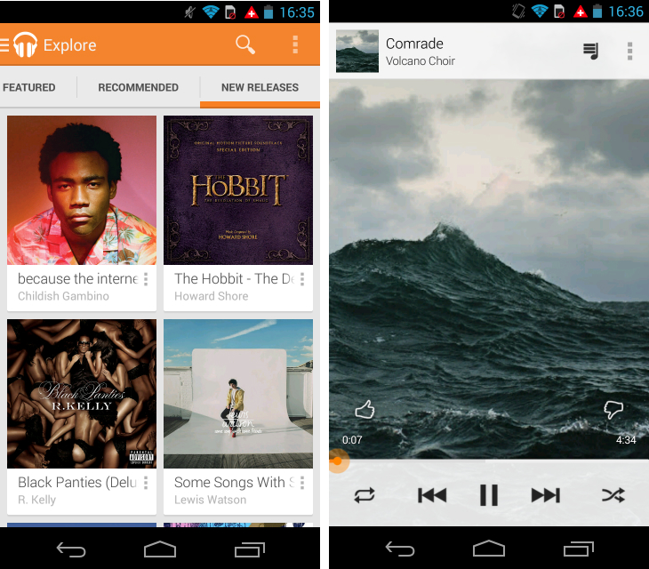 gmusic1 So you've just got an Android device? Download these apps first