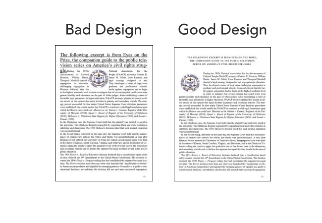 good bad The science behind fonts (and how they make you feel)