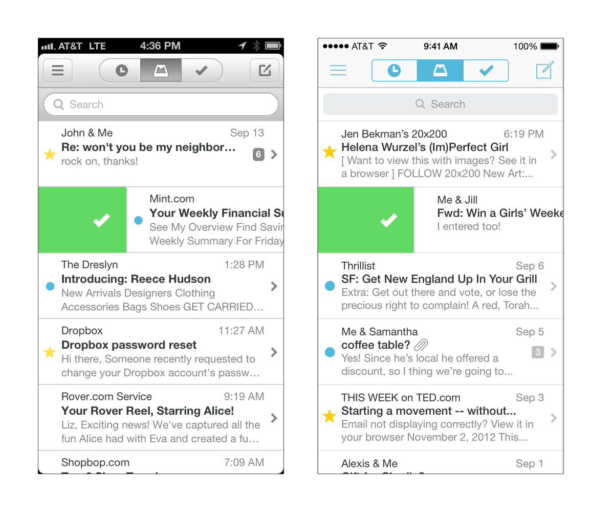 Dropbox-owned Mailbox adds support for Yahoo Mail and iCloud