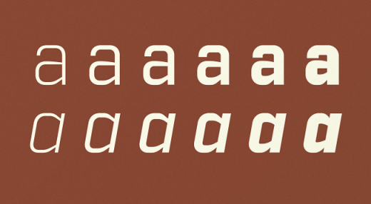 industry 520x286 The most beautiful typefaces from this past month