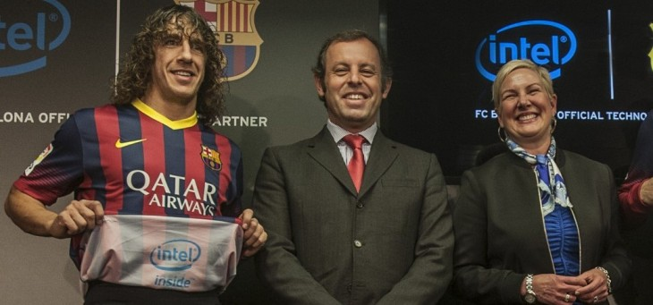 Intel wants to make Barcelona one of the world's most technologically advanced football clubs