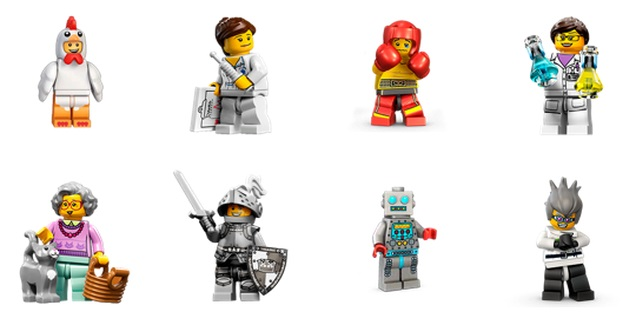 lego stickers 1 Facebooks latest stickers let you express yourself with Legos beloved minifigures