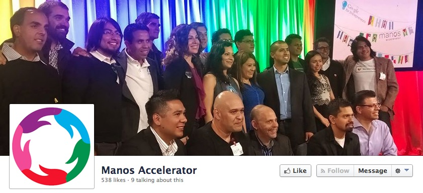 manos accelerator fb screenshot 2013 in Latin American tech: Less talk, more results