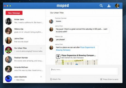 Wunderlist maker acquires the technology behind business messaging service Moped, which shuts down on 31 December