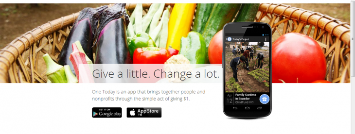 Google charity app One Today comes to iOS, lets you make $1 donations from your phone