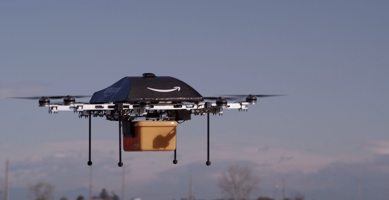 The FAA plans to finalize commercial drone rules within a year, and Amazon is ready