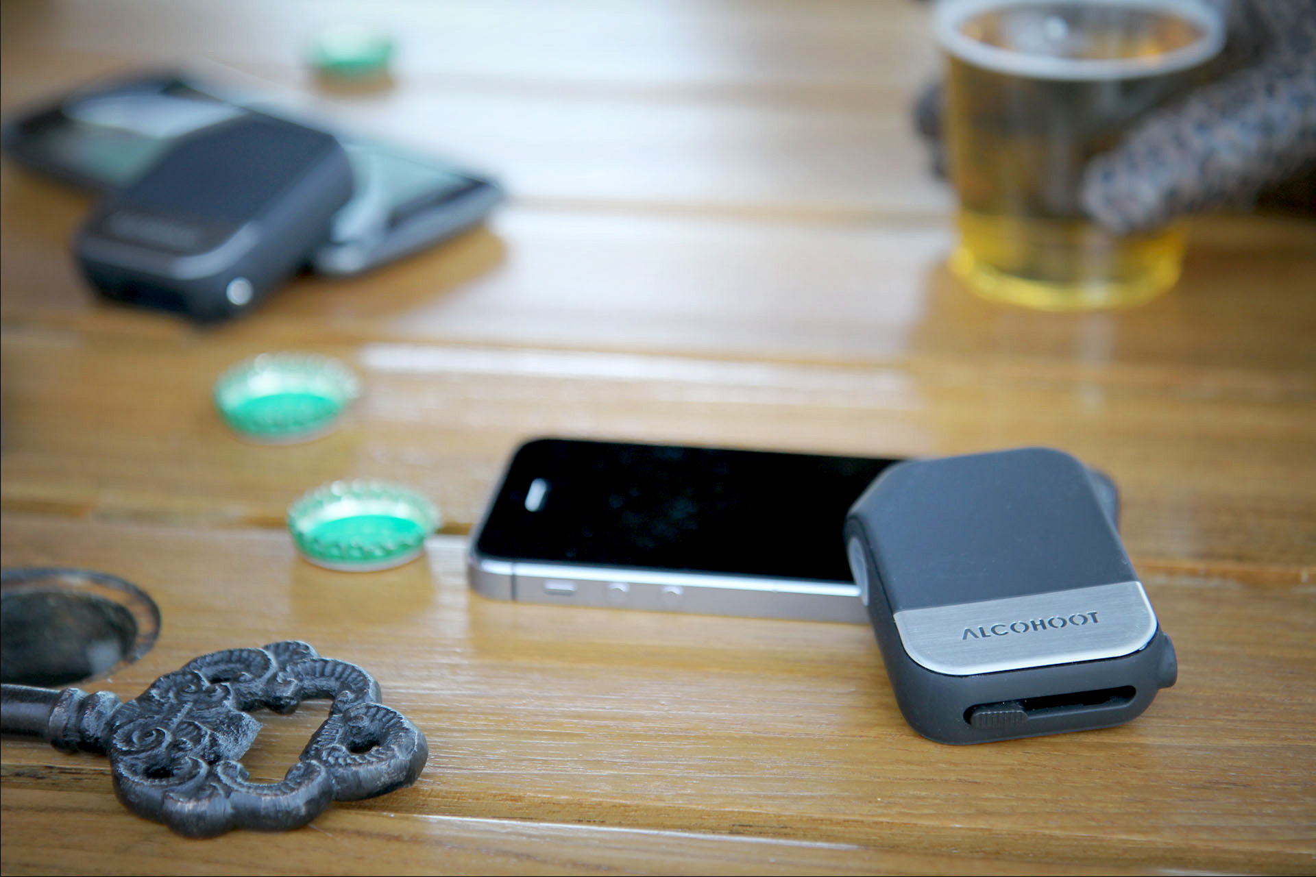 Alcohoot: A breathalyzer smartphone accessory that just might change the world