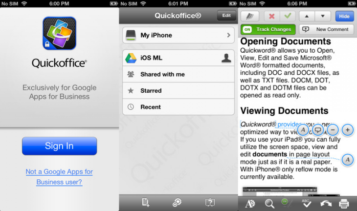 quickoffice iphone 730x432 89 of the best iOS apps launched in 2013