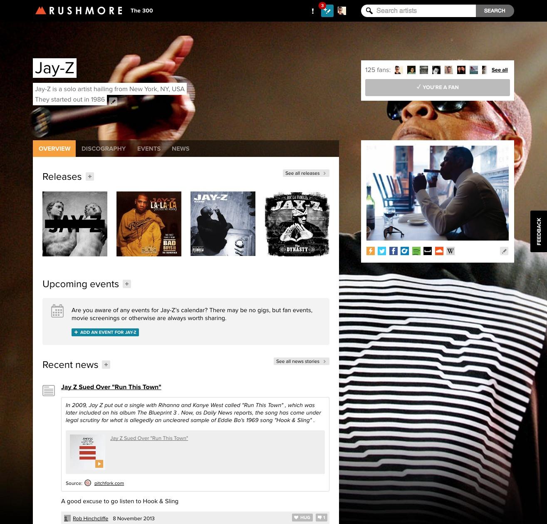 Rushmore fm Opens Up its Wikipedia-Style Music Platform to