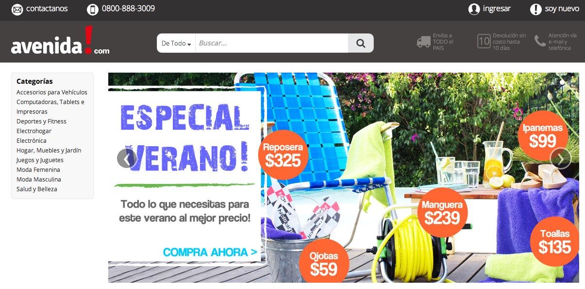 screenshot avenida com