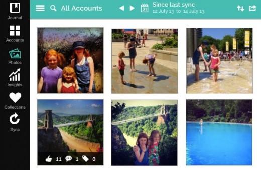 socialsafe screenshot